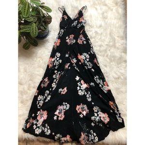 Lulu's Floral High/Low Dress